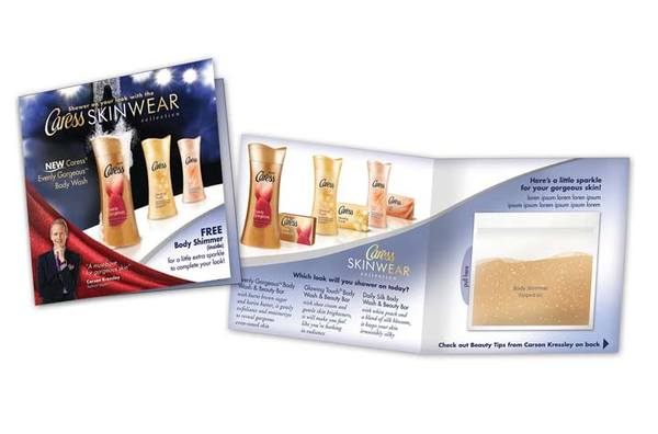 Caress Brochure with Giveaway