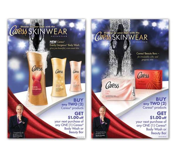 Caress Easel Back Counter Cards