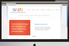 SWPR Website and branding
